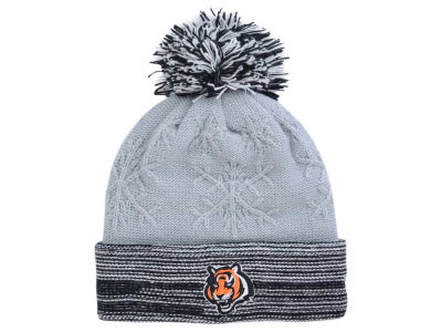 Cincinnati Bengals New Era NFL Women's Snow Crown Redux Knit