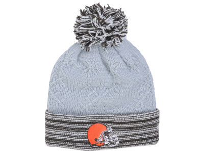 Cleveland Browns New Era NFL Women's Snow Crown Redux Knit