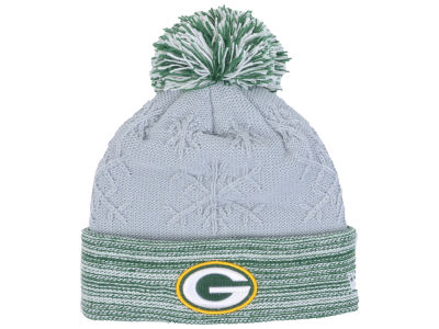 Green Bay Packers New Era NFL Women's Snow Crown Redux Knit