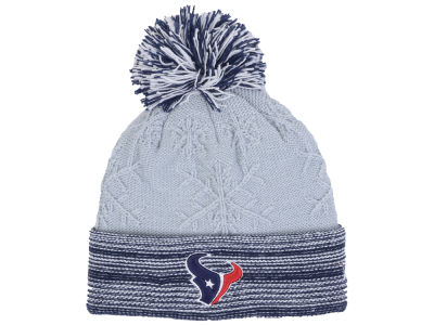 Houston Texans New Era NFL Women's Snow Crown Redux Knit