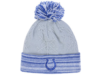 Indianapolis Colts New Era NFL Women's Snow Crown Redux Knit
