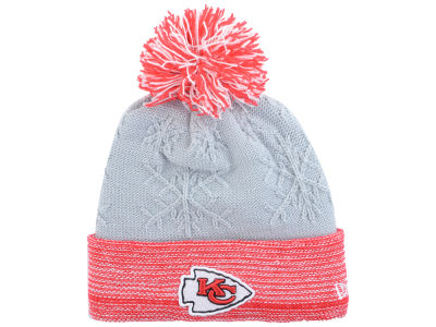 Kansas City Chiefs New Era NFL Women's Snow Crown Redux Knit
