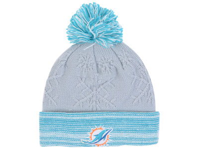 Miami Dolphins New Era NFL Women's Snow Crown Redux Knit
