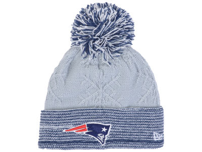 New England Patriots New Era NFL Women's Snow Crown Redux Knit