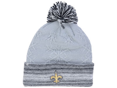 New Orleans Saints New Era NFL Women's Snow Crown Redux Knit