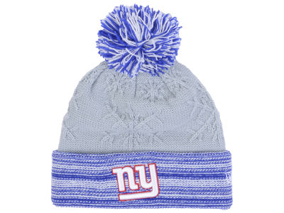 New York Giants New Era NFL Women's Snow Crown Redux Knit