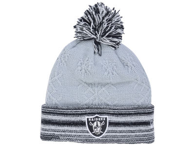 Oakland Raiders New Era NFL Women's Snow Crown Redux Knit