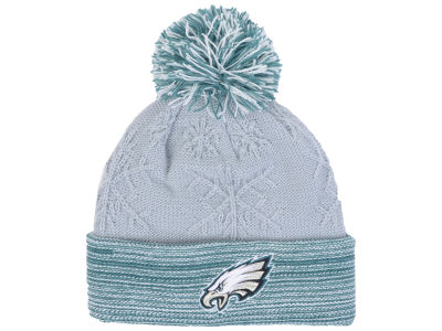 Philadelphia Eagles New Era NFL Women's Snow Crown Redux Knit