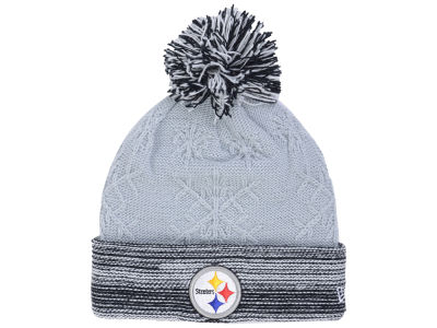 Pittsburgh Steelers New Era NFL Women's Snow Crown Redux Knit