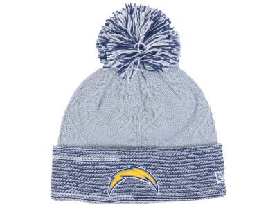 San Diego Chargers New Era NFL Women's Snow Crown Redux Knit