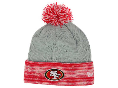 San Francisco 49ers New Era NFL Women's Snow Crown Redux Knit