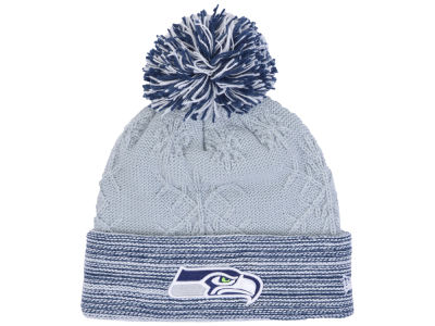 Seattle Seahawks New Era NFL Women's Snow Crown Redux Knit