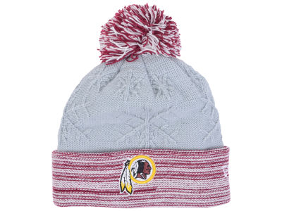 Washington Redskins New Era NFL Women's Snow Crown Redux Knit