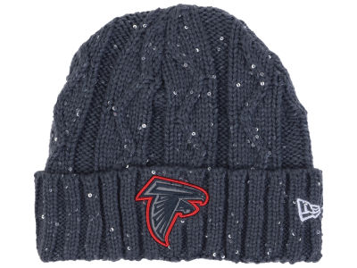 Atlanta Falcons New Era NFL Women's Frosted Cable Knit