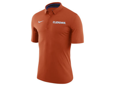 Clemson Tigers Nike NCAA Men's Basketball Polo Shirt