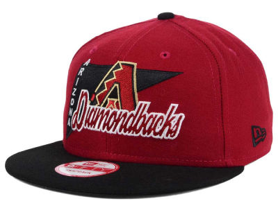 Arizona Diamondbacks New Era MLB Logo Stacker 9FIFTY Snapback Cap
