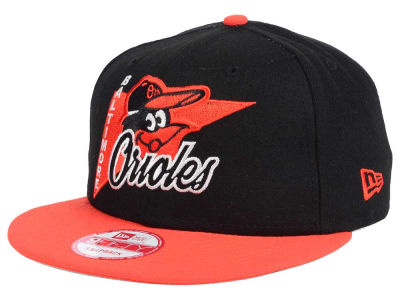 Baltimore Orioles New Era MLB Logo Stacker 9FIFTY Snapback Cap