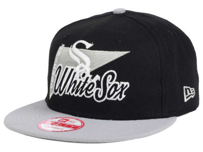 Chicago White Sox New Era MLB Logo Stacker 9FIFTY Snapback Cap