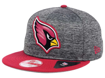 Arizona Cardinals New Era NFL Shadow Bevel 9FIFTY Snapback Cap