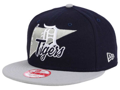 Detroit Tigers New Era MLB Logo Stacker 9FIFTY Snapback Cap