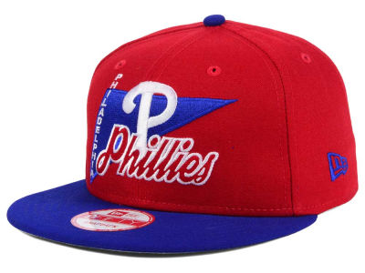 Philadelphia Phillies New Era MLB Logo Stacker 9FIFTY Snapback Cap