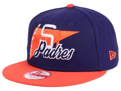 San Diego Padres New Era MLB Logo Stacker 9FIFTY Snapback Cap