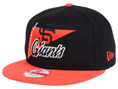 San Francisco Giants New Era MLB Logo Stacker 9FIFTY Snapback Cap