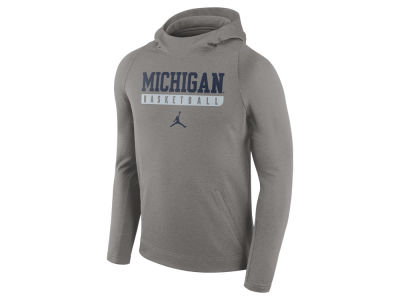 Michigan Wolverines Nike NCAA Men's Elite Basketball Performance Hoodie