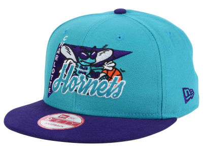 Charlotte Hornets New Era NBA HWC Logo Stacker 9FIFTY Snapback Cap
