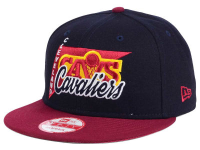 Cleveland Cavaliers New Era NBA HWC Logo Stacker 9FIFTY Snapback Cap