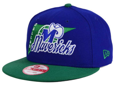 Dallas Mavericks New Era NBA HWC Logo Stacker 9FIFTY Snapback Cap