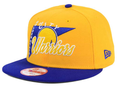 Golden State Warriors New Era NBA HWC Logo Stacker 9FIFTY Snapback Cap