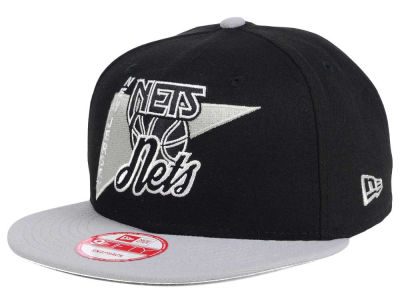 New Jersey Nets New Era NBA HWC Logo Stacker 9FIFTY Snapback Cap