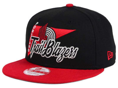 Portland Trail Blazers New Era NBA HWC Logo Stacker 9FIFTY Snapback Cap