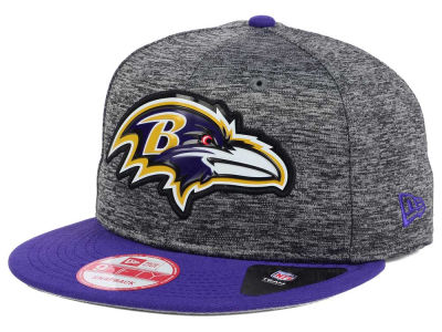 Baltimore Ravens New Era NFL Shadow Bevel 9FIFTY Snapback Cap