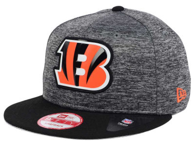 Cincinnati Bengals New Era NFL Shadow Bevel 9FIFTY Snapback Cap