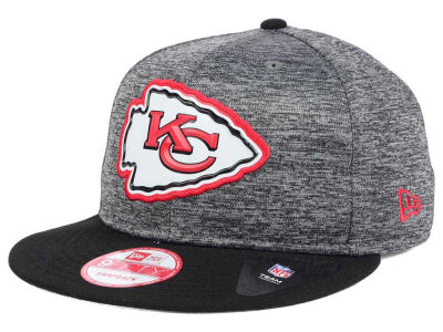 Kansas City Chiefs New Era NFL Shadow Bevel 9FIFTY Snapback Cap