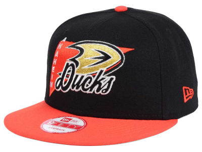 Anaheim Ducks New Era NHL Logo Stacker 9FIFTY Snapback Cap