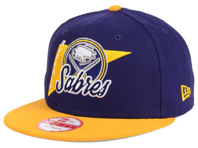 Buffalo Sabres New Era NHL Logo Stacker 9FIFTY Snapback Cap