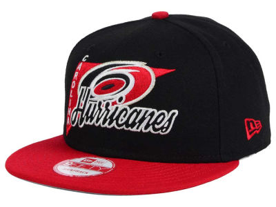 Carolina Hurricanes New Era NHL Logo Stacker 9FIFTY Snapback Cap
