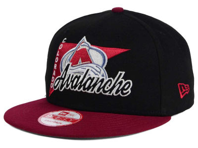 Colorado Avalanche New Era NHL Logo Stacker 9FIFTY Snapback Cap