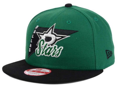 Dallas Stars New Era NHL Logo Stacker 9FIFTY Snapback Cap
