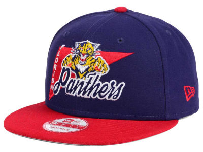 Florida Panthers New Era NHL Logo Stacker 9FIFTY Snapback Cap