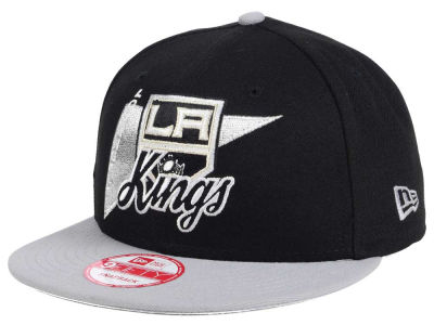 Los Angeles Kings New Era NHL Logo Stacker 9FIFTY Snapback Cap