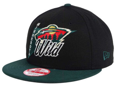 Minnesota Wild New Era NHL Logo Stacker 9FIFTY Snapback Cap