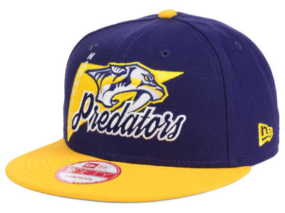 Nashville Predators New Era NHL Logo Stacker 9FIFTY Snapback Cap