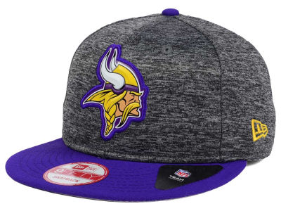 Minnesota Vikings New Era NFL Shadow Bevel 9FIFTY Snapback Cap