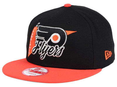 Philadelphia Flyers New Era NHL Logo Stacker 9FIFTY Snapback Cap