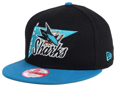 San Jose Sharks New Era NHL Logo Stacker 9FIFTY Snapback Cap