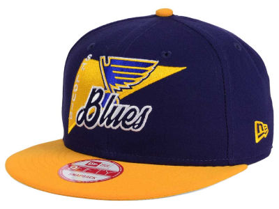 St. Louis Blues New Era NHL Logo Stacker 9FIFTY Snapback Cap